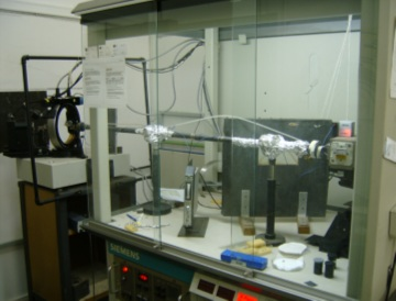 P4 diffractometer for single crystals of the modified Bruker diffraction experiments for multiple X-ray installed on LPCM